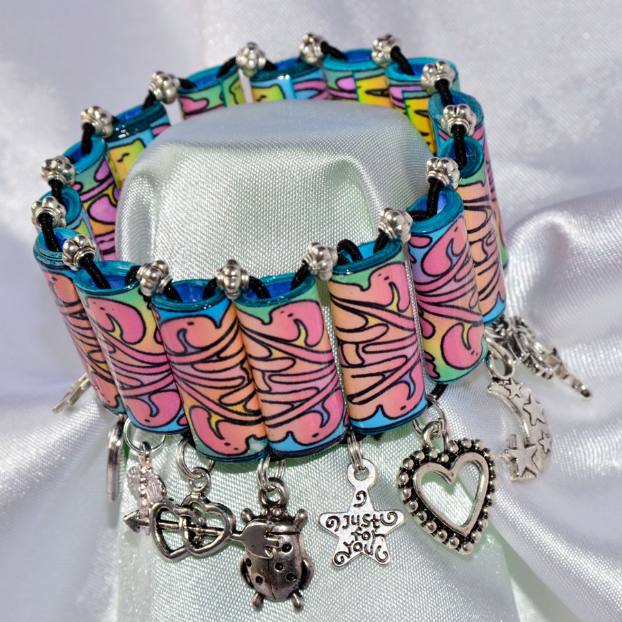 Making Handmade Gifts? Try This Gorgeous Charm Bracelet! – Fun ...
