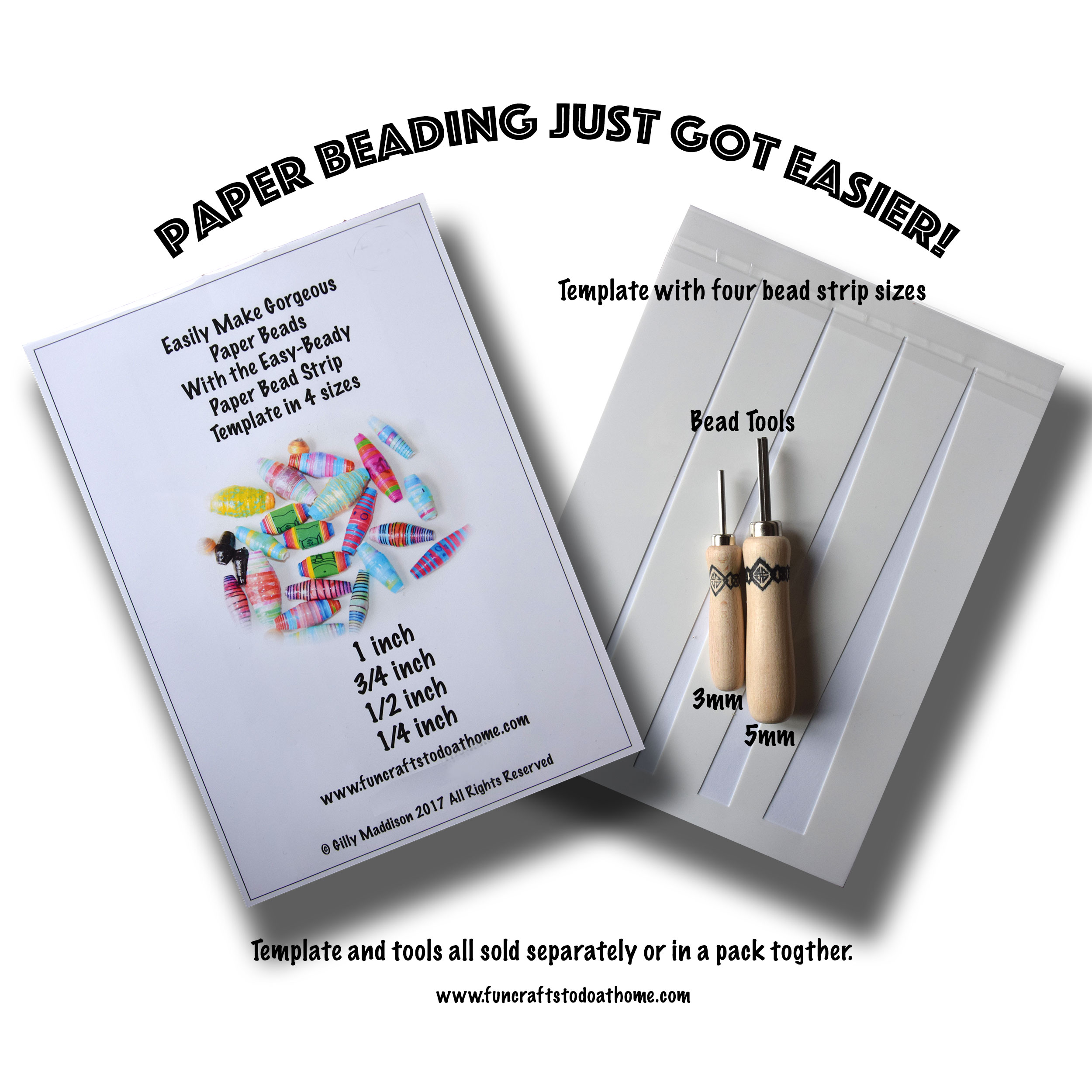 paper bead templates and tools save time and money with this paper