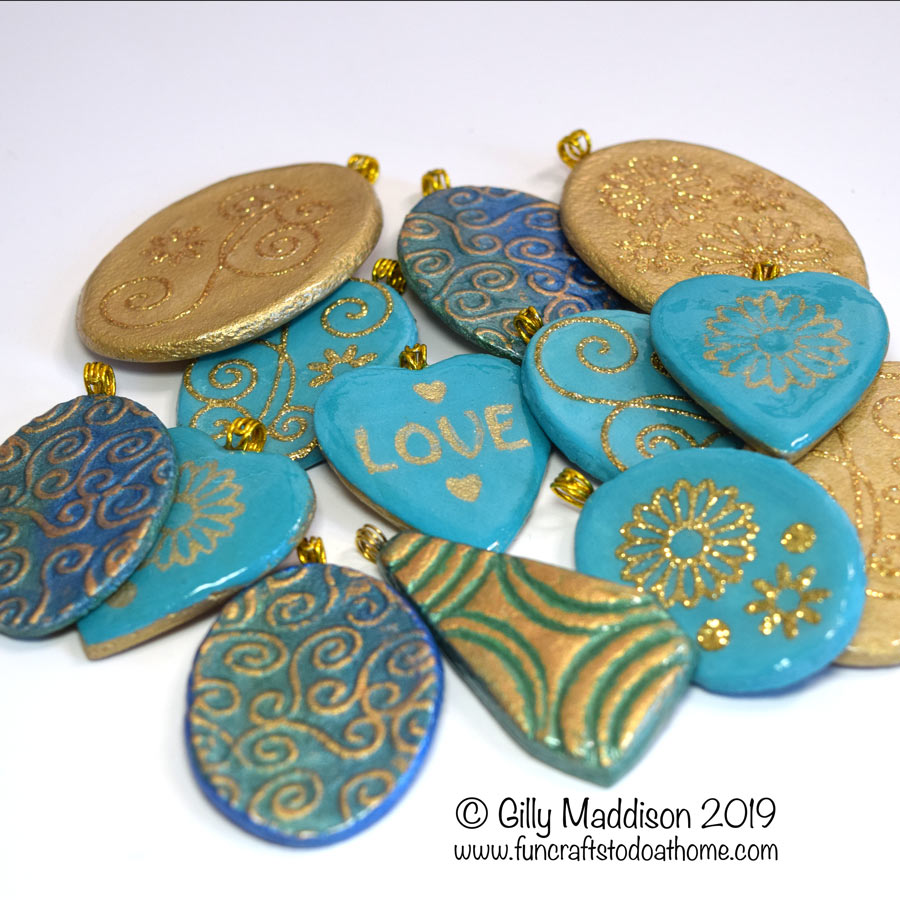 salt dough jewelry